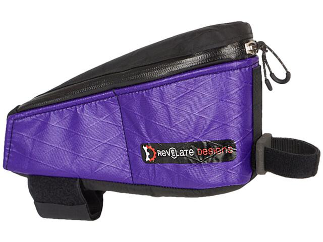 Revelate Designs Gas Tank Sacoche de tube supérieur, crush purple